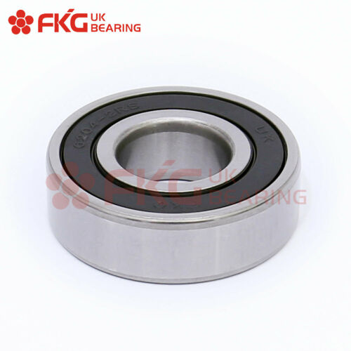 10PCS,6204-2RS Premium Rubber Sealed Deep Groove Ball Bearing 20x47x14,6204 2RS