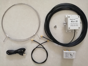 30MHz for Short Wave Radio MLA-30 Loop Antenna Active Receiving Antenna 100kHz