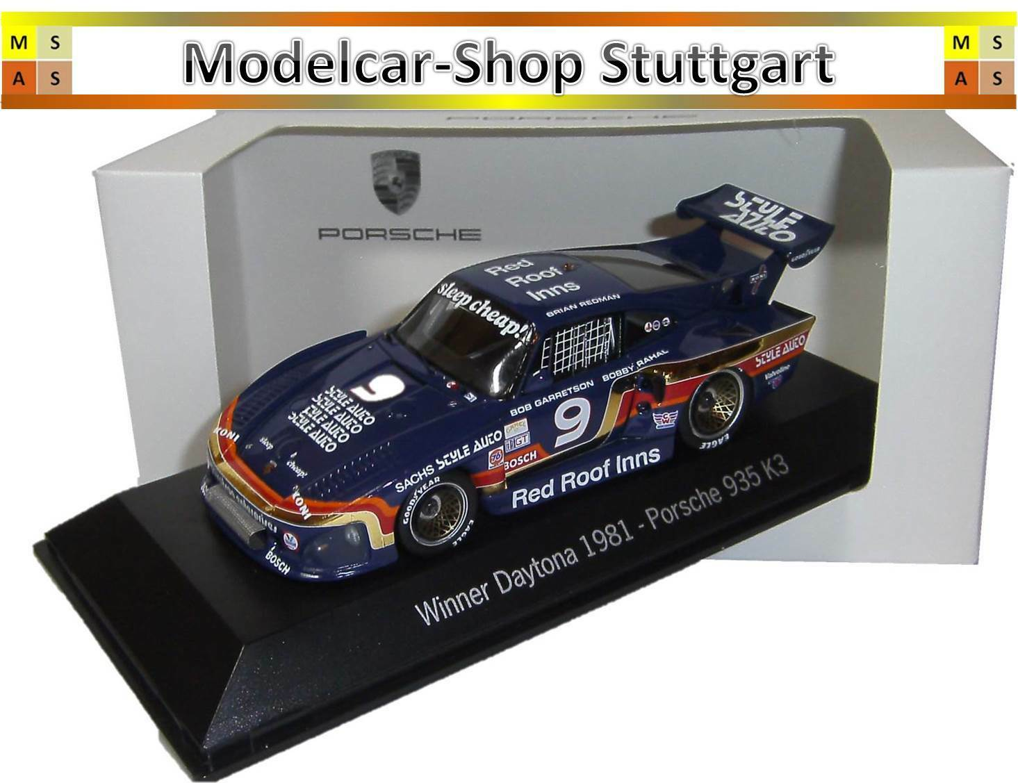 Porsche 935 Winner Daytona 1981 - Spark 1 43 - map02028114 - BRAND NEW