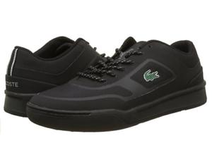 Lacoste Explorateur Sport 117 Cam Para Hombre UE 45 Negro Zapatillas Con Cordones
