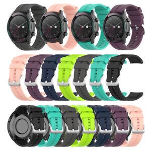 Para-Huawei-Watch-GT-Elegante-correa-de-pulsera-de-reloj-de-silicona-de-20-mm