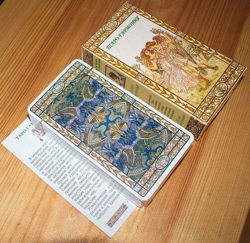 Harmonious Tarot  High Quality карты Таро Гармония Russian manual made in EU!