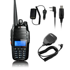 TYT TH-UV8000D Dual Band Two-Way Radio 10W + Baofeng Mic +USB Cable +Car Charger