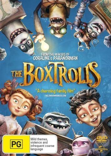1 of 1 - The Boxtrolls (DVD, 2015) Region 4 - Like New & FREE POSTAGE
