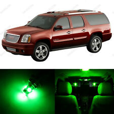 10 x Green LED Interior Light Package For 2000 - 2006 GMC Yukon
