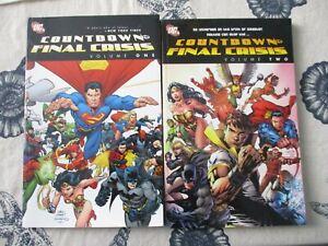 DC Comics Massive Countdown to Final Crisis TPB Lot 8 books