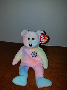 Ty Beanie Baby B.B. Bear with RARE Tush Tag!! 1999 FREE SHIP!!!  1e204b9e980