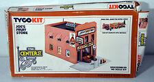 Tyco Plastic Model Building Hobby HO Scale Kit Joe's Fruit Store Dentist