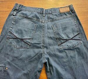 Marithe Francois Girbaud Azul Marca X Autentico Fit Pantalones Jeans De Hombre Tallas 38x32 Ebay