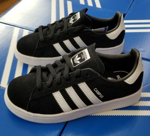 ADIDAS CAMPUS C  BLACK WHITE BY9594  PRESCHOOL