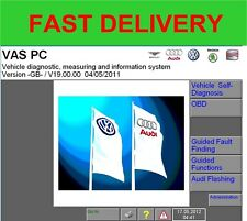 VASPC Vas PC Version 19.01.01  DEALER DIAGNOSTIC SOFTWARE FOR VAS5054A