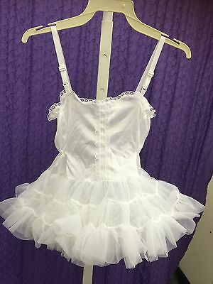 1-Layer Formal Slips Size 6-24 Month Whole Body Short NEW B796 adjustable