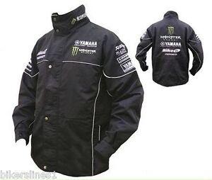 bike it officiel yamaha cosworth paddock veste noir ebay. Black Bedroom Furniture Sets. Home Design Ideas