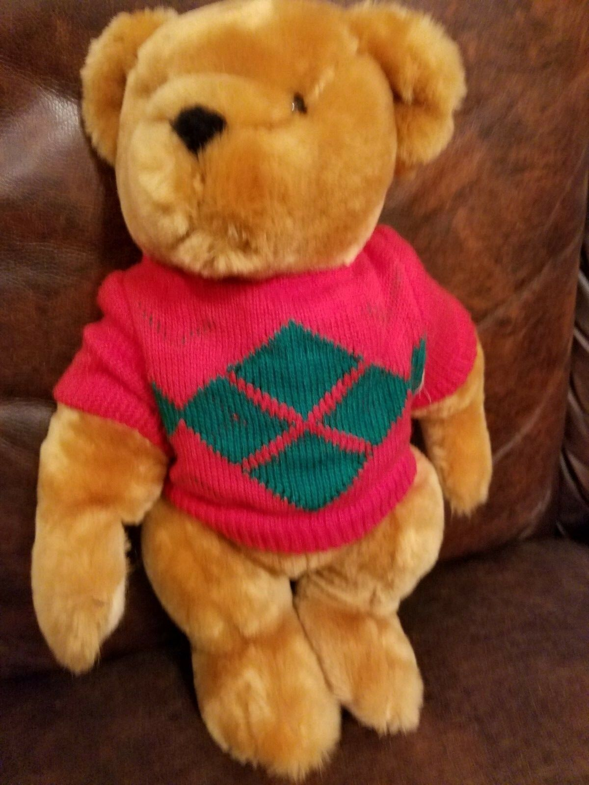 CALTOY The Original Teddy Bear Soft Fully Jointed Quality 15