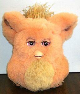2005 Emototronic Furby Doll Figure Orange Pink Eyes Original Very ...