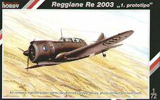 Special Hobby 1/72 Model Kit 72135 Reggiane Re.2003