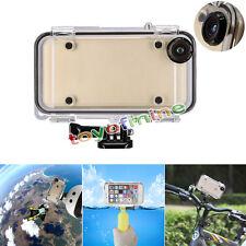 IP68 Waterproof Underwater Diving Housing Case Cover For iPhone 6 6S 4.7'' Black