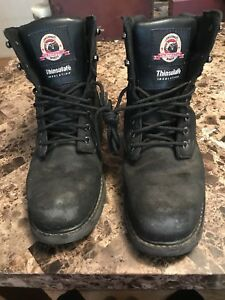 472986d4369 Details about Brahma Thinsulate Insulation Steel Toe Mens Work Boots