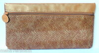 Ipsy Face Fashion September 2015 Makeup Glam Bag Bronze Vinyl Cosmetic Case