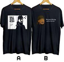 Omar Comin/' Omar Little Custom T-Shirt The Wire HBO Gangster O.G Street King 99