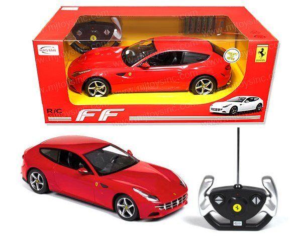 Rastar Radio Remote Control 1 14 Ferrari Ff Rc Car Red Color 47400