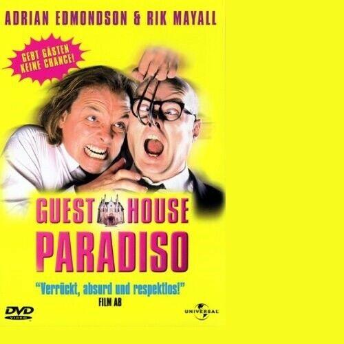 GUEST HOUSE PARADIS -  DVD NEW RIK MAYALL,ADRIAN EDMONDSON,VINCENT CASSEL