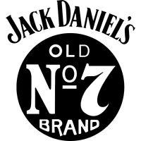Sticker Jack Daniel's Old N°7 Couleur Au Choix Jack04