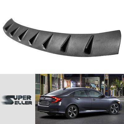 2019 LX DX Sedan Civic 10th For HONDA Roof Fin Spoiler Wing Painted Glassy Black