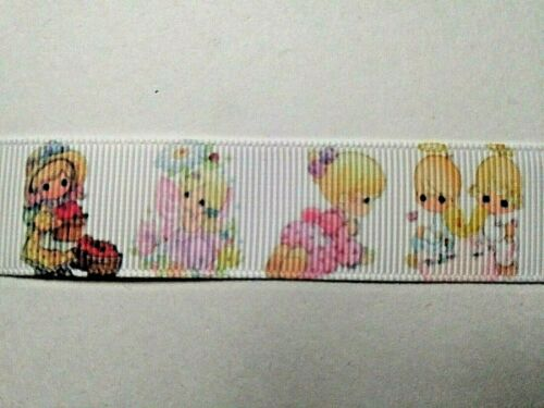 ANGELS  Grosgrain Ribbon 4 Meters for £2.99 22 mm GIRL Cute Cartoon BOY