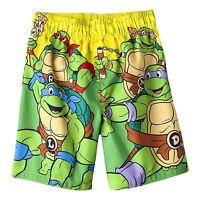 Teenage Mutant Ninja Turtles Swim Trunks Shorts Boy Size 4t 5t