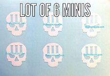 Car Decal Three Percent With Skull Decal America Militia 3% AR-15 Window Sticker