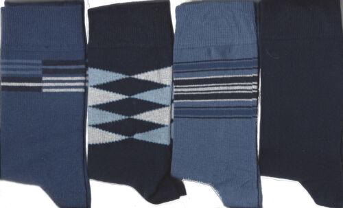 4 paia calze da uomo 70 motivi Tempo Libero Albero di alta qualità wollmischung Öko-Tex