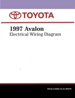 1997 Toyota Avalon Wiring Diagrams Schematics Layout ...