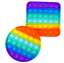 thumbnail 13 - Popit Fidget Toy Push Bubble Sensory Stress Relief Kids Family Games Square Game