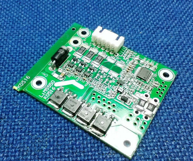 Protection Board BMS for 3 Pack Li-ion 18650 Battery Cell 10.8V 20A w/ Balance