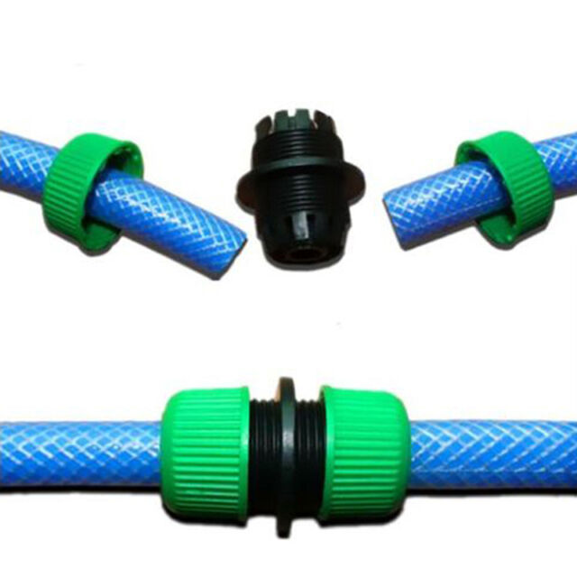 Garden Washing Hose  Splitters Water Hose Pipe Connector Joiner Plastic Tools-AU
