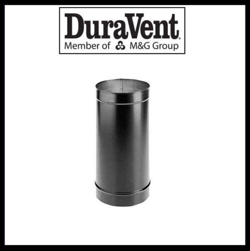 "DURAVENT DURABLACK 24/"" Length #6DBK-24 6/"" Single Wall Black Pipe"