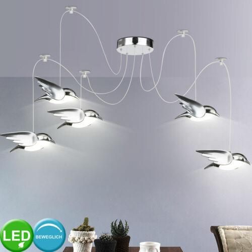 LED Chrom Wand Tisch Klemm Flexo Strahler Kristall Vogel Decken Hänge Lampen