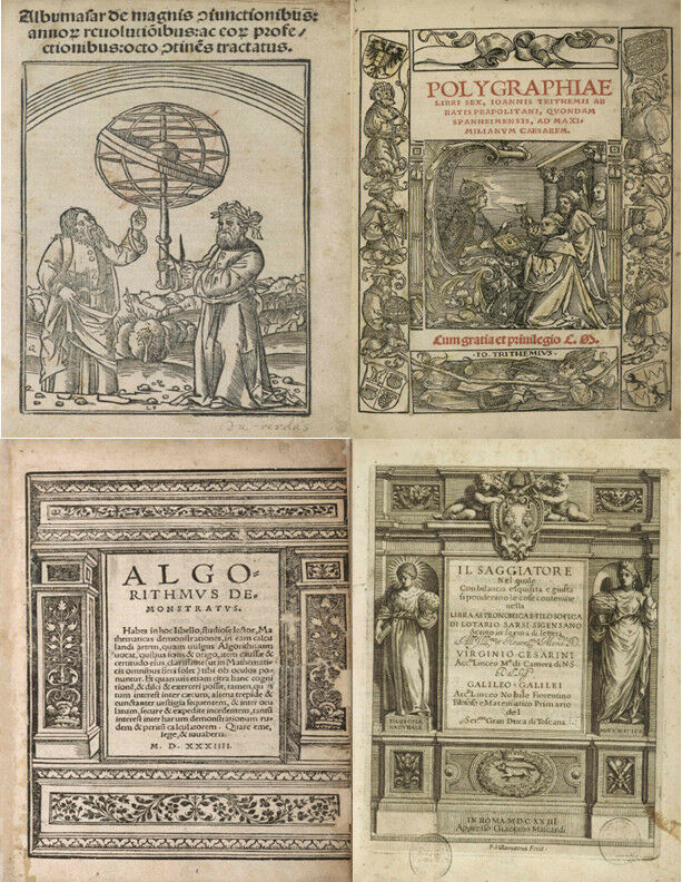 30 RARE ANTIQUE BOOKS ON SCIENCE, MATHEMATICS, ASTROLOGY & NATURAL HISTORY - DVD 2