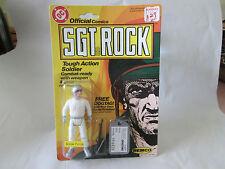 1981 Remco Toys DC Comics Sgt Rock Snow Force Action Soldier Figure #103/`104 HK