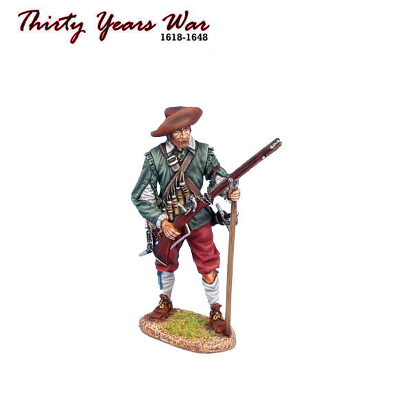 TYW016 Spanish Tercio Musketeer Ready by First Legion