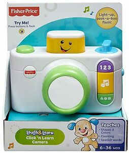 FISHER-PRICE-LAUGH-amp-LEARN-CLICK-N-LEARN-CAMERA-EDUCATIONAL-TOY-CDK39-NEW