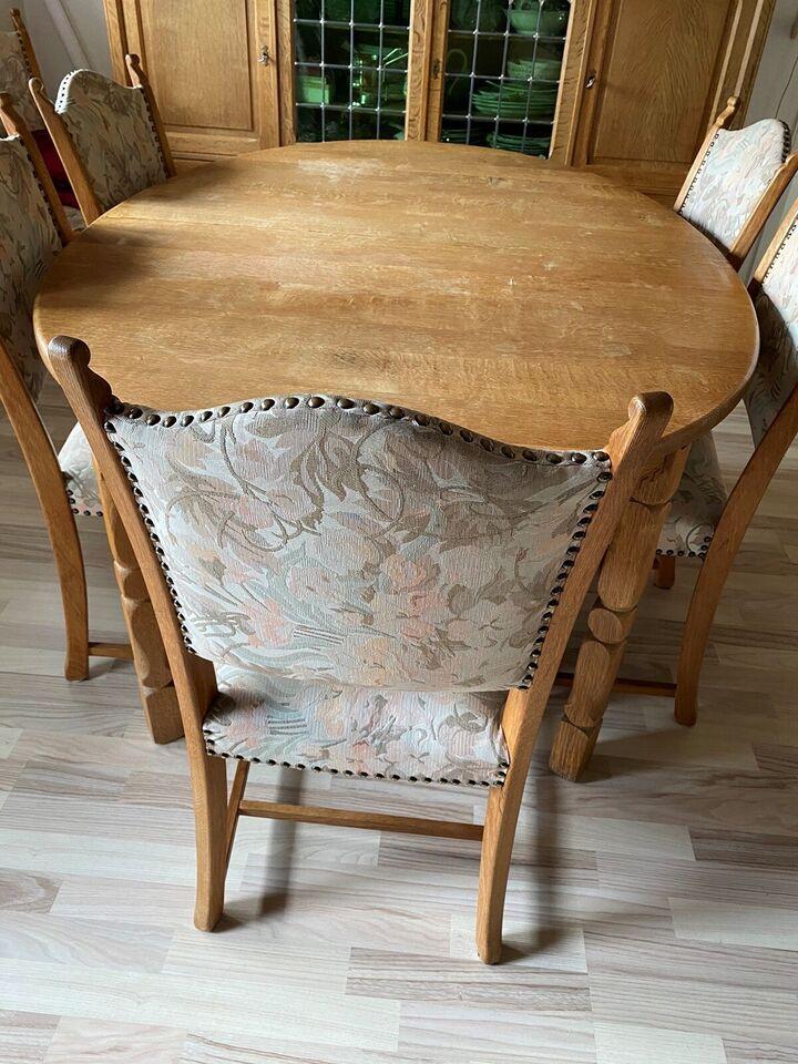 Spisebord mstole, Egetræ, b: 108 – dba.dk – Køb og Salg af