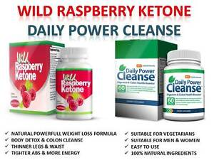 wild raspberry ketone daily power cleanse weightloss colon cleanse fat burn ebay. Black Bedroom Furniture Sets. Home Design Ideas