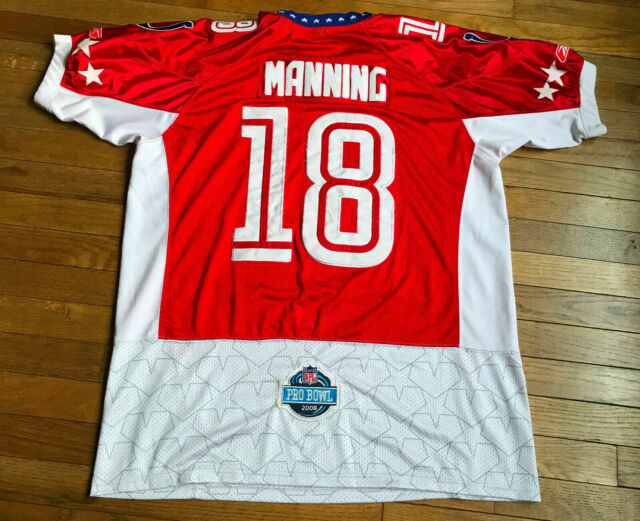 outlet store bc087 46cf6 Peyton Manning Indianapolis Colts NFL Reebok Jersey- XL