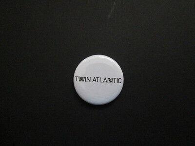 "TWIN ATLANTIC - LOGO  -1""  Button Badge-music -FREE UK POSTAGE-*"