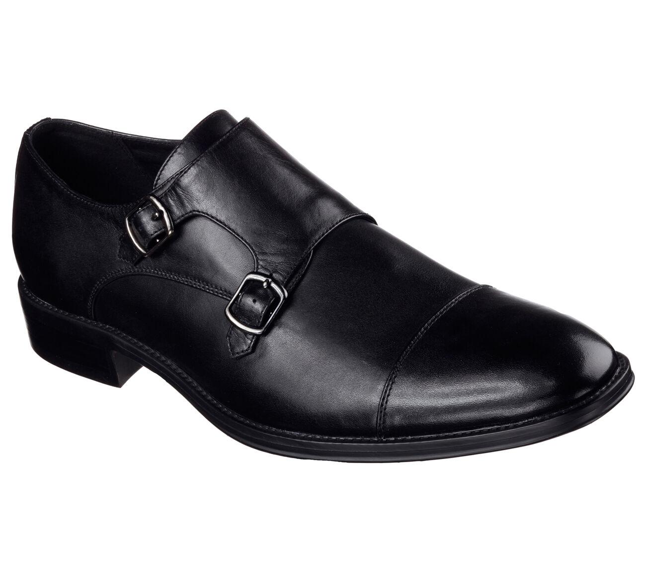 Men's MARK NASON by SKECHERS Wickman Oxford, 68913 /BLK Sizes 8-13 Black