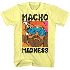 Andre The Giant VS Macho Man Randy Savage 1989 Adult T Shirt WWE Wrestling