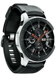 NEW Samsung Galaxy Watch (46mm, GPS, Bluetooth) – Silver/Black GPS BLUETOOTH