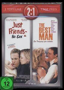 Dvd Just Friends No Sex The Best Man 2 Filme Set Romantik